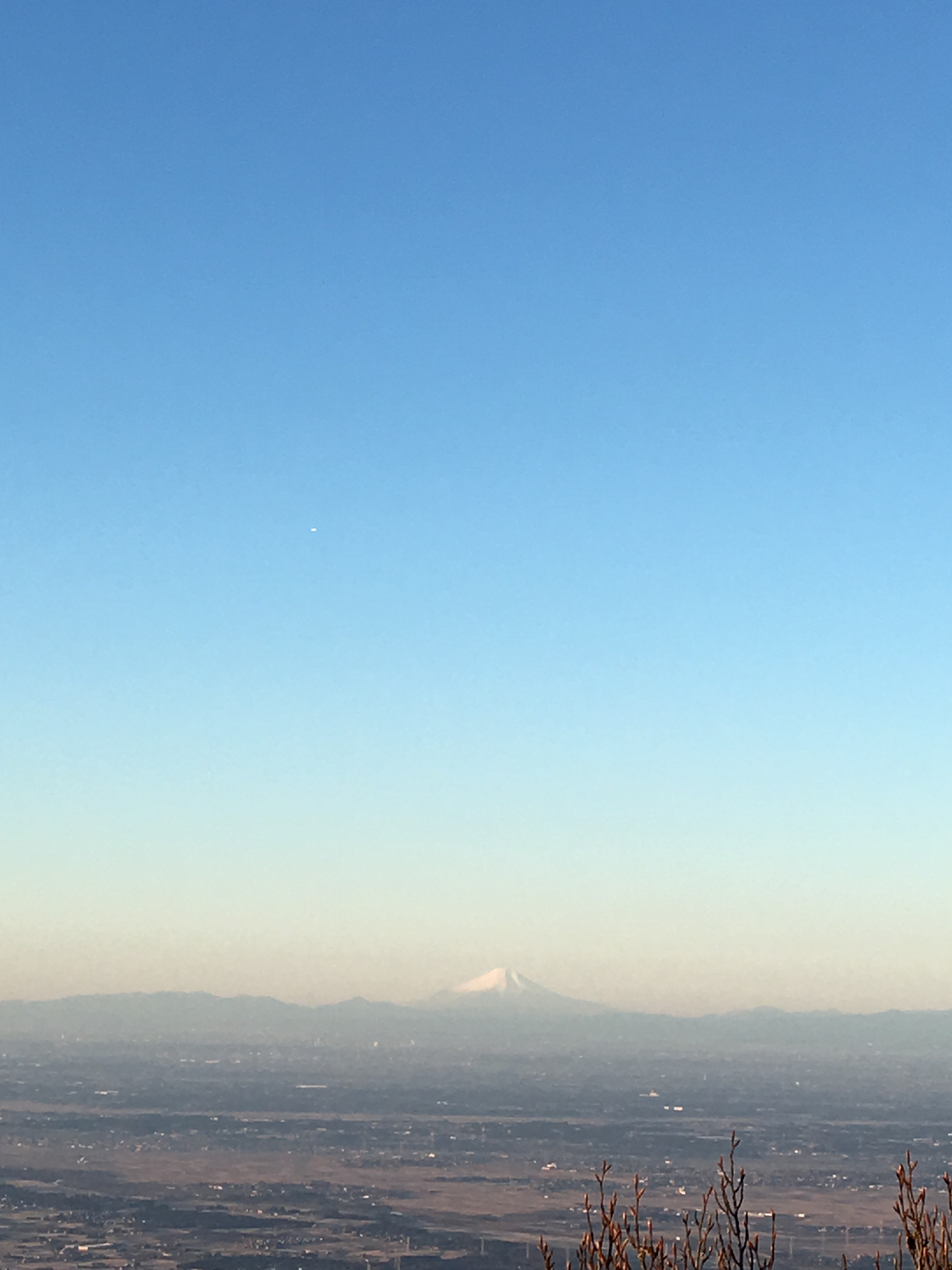 筑波山 富士山