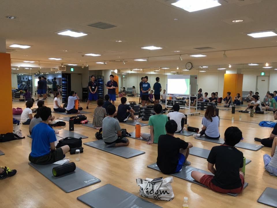【第5回千葉フィットネスコミュニティ勉強会】インストラクター・トレーナーのためのセルフ筋膜リリース理論を開催しました!