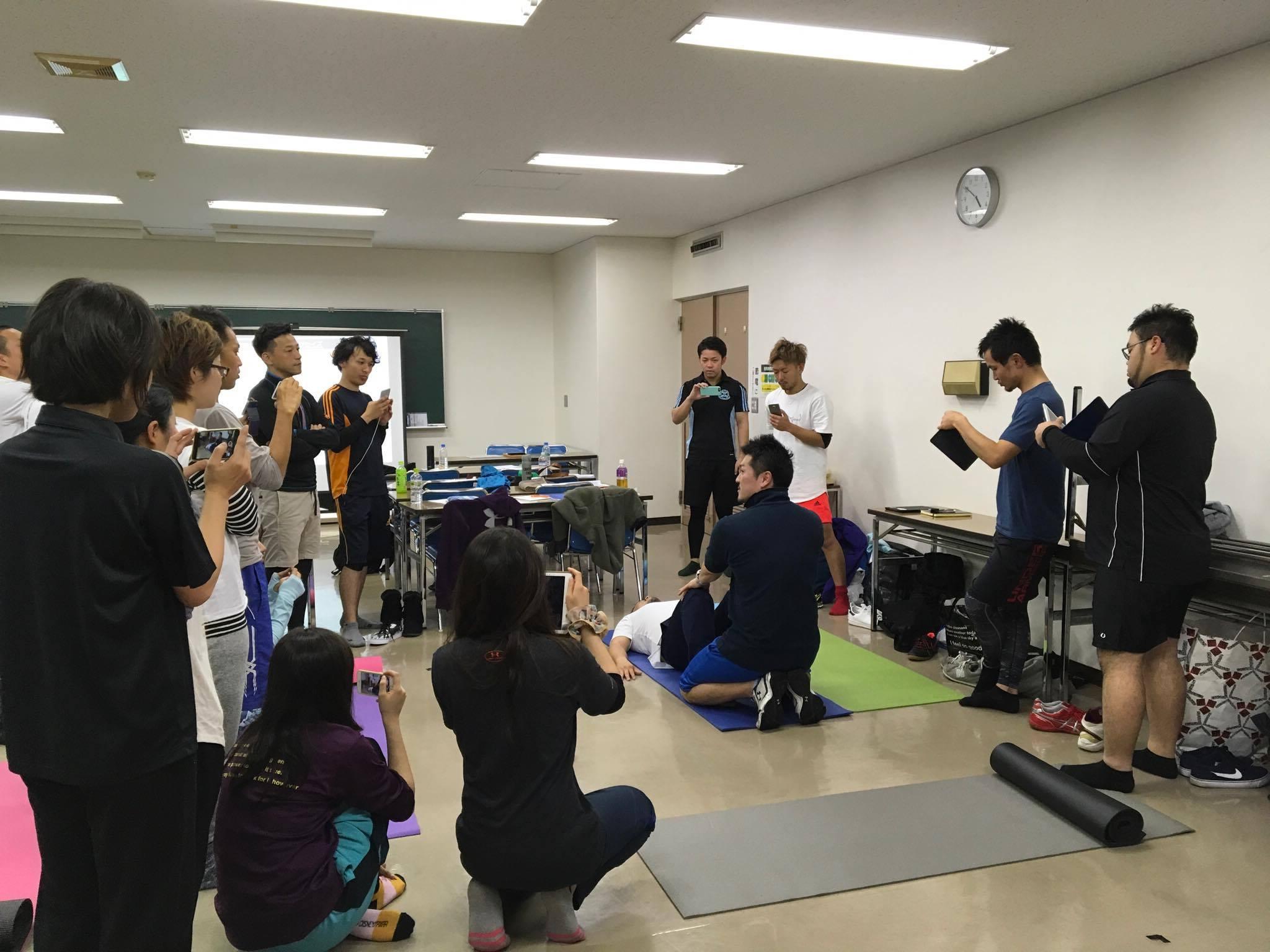 4月15日(土)&16日(日)愛知県一宮市【現場に活かす!動作に繋げる体幹トレーニングの理論と実際】