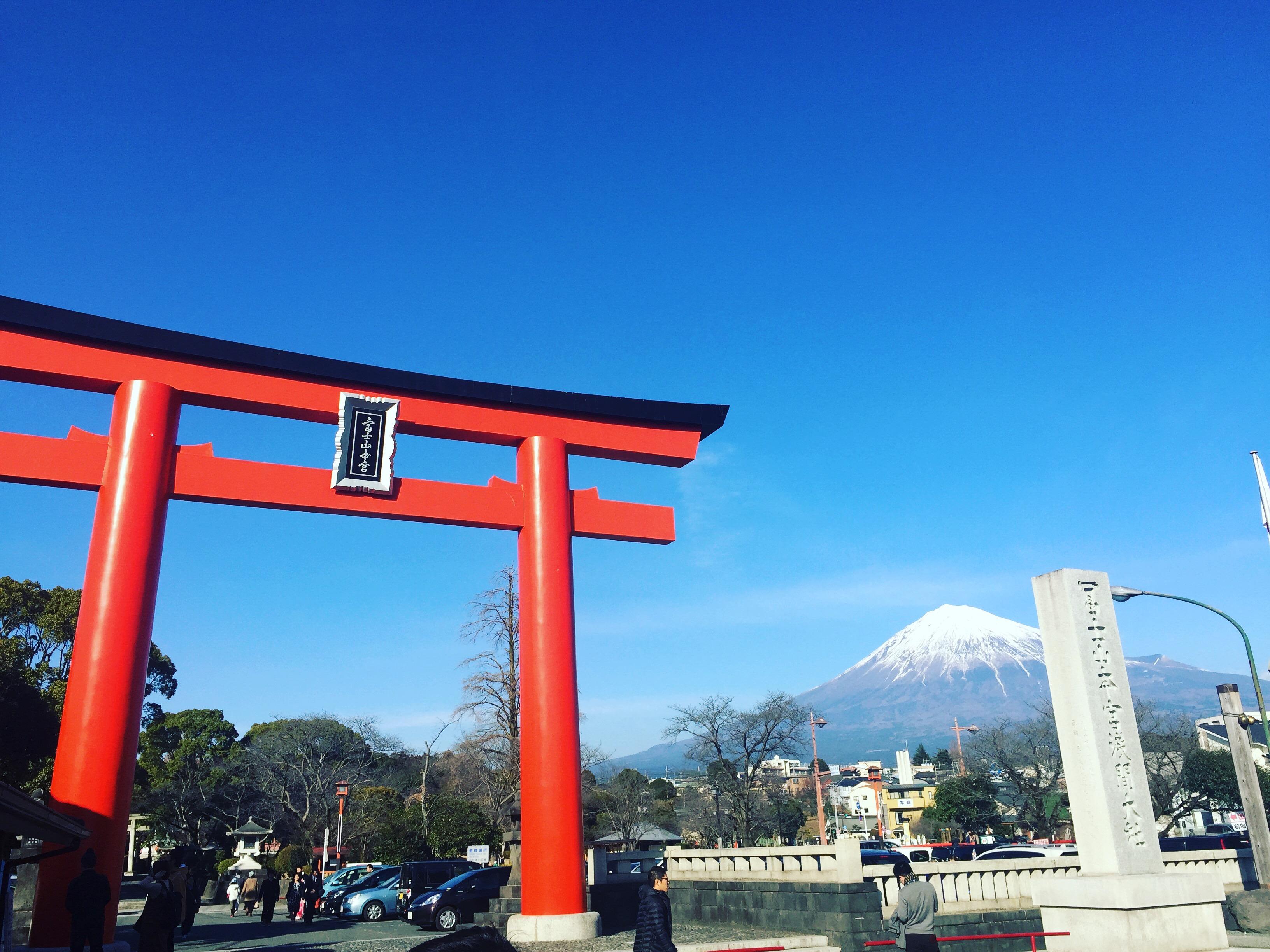 富士山本宮浅間大社に行ってきました!