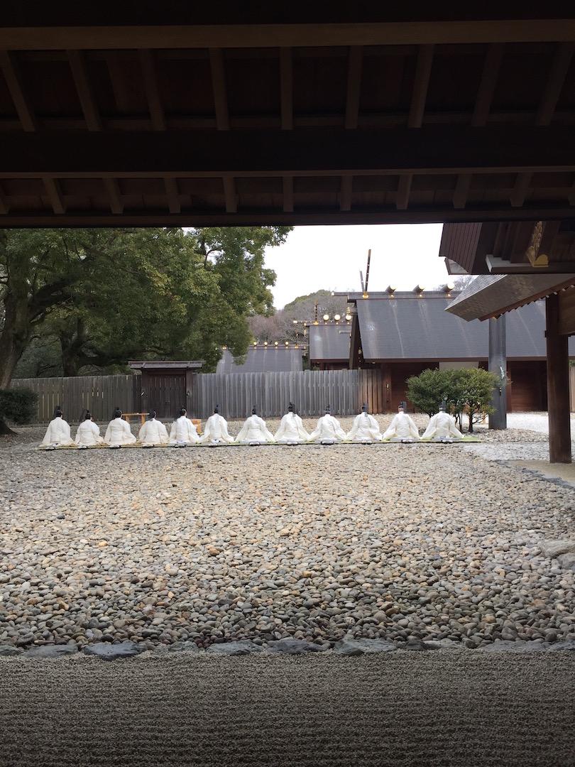熱田神宮と徳川美術館。
