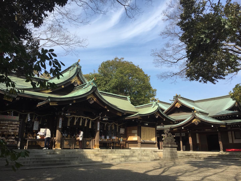 子守神社、検見川神社、稲毛浅間神社に行ってきました!