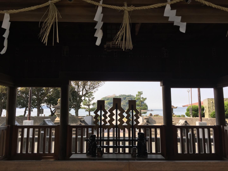 【愛知県蒲郡市】八百富神社、八大龍神社に行ってきました!