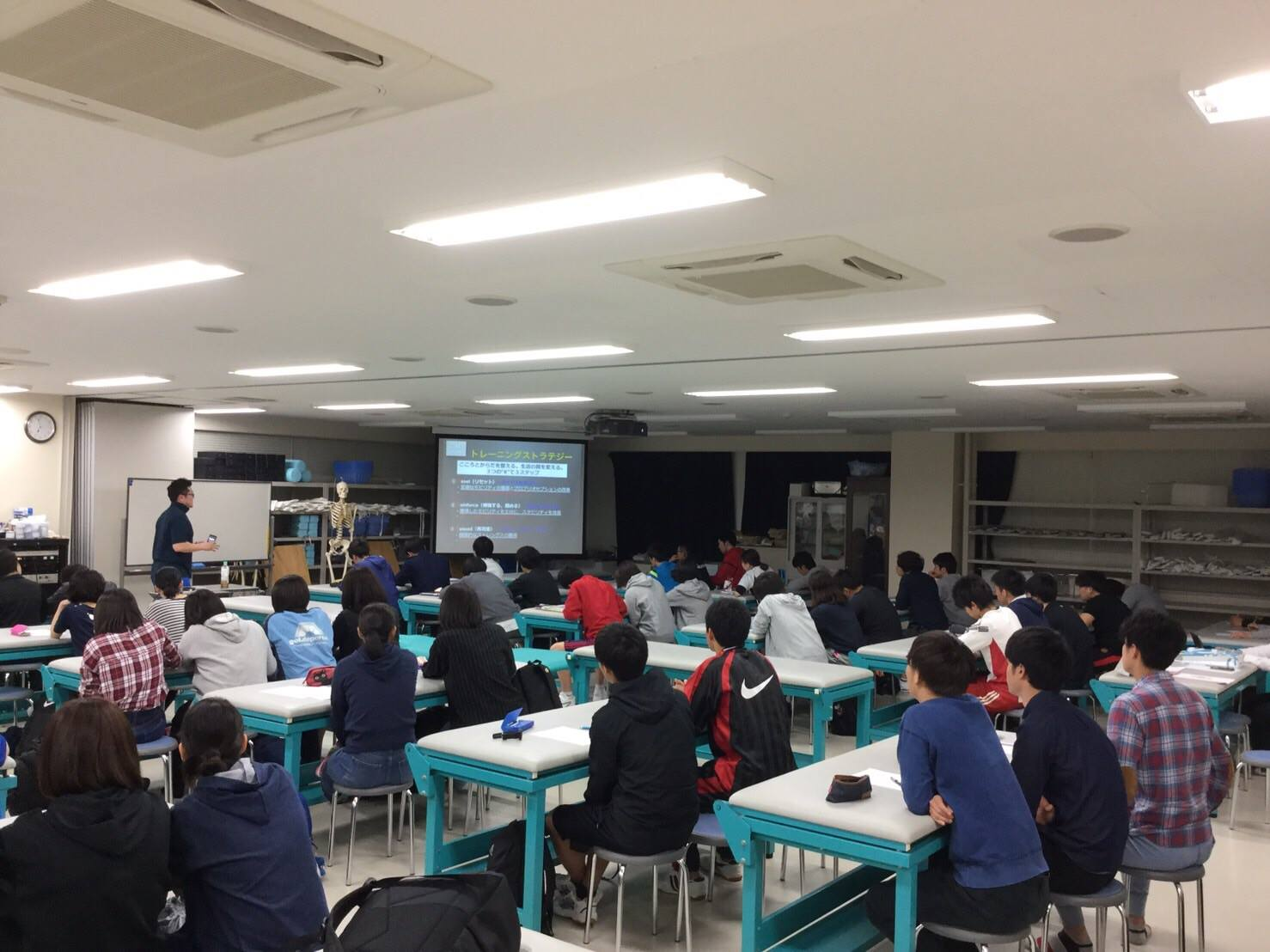 【報告】帝京大学の柔道整復師学科で講演をしてきました!