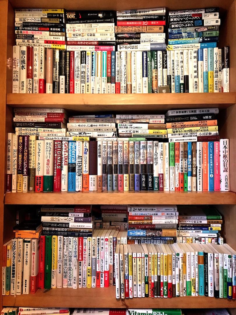 年間150冊以上。3年間で読んだページは120,000ページ。